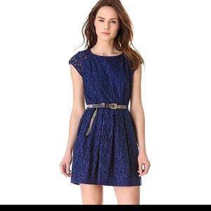 MADEWELL Navy Blue Lace Size 8 Dress